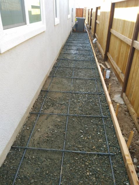 An image of concrete leveling in Chino Hills.