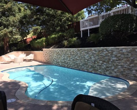 this image shows pool deck chino hills
