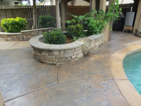 this image shows retaining wall chino hills