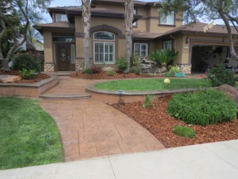 this image shows turf installation in Chino Hills
