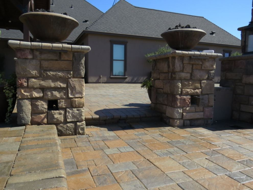 this is an image of masonry work in Chino Hills